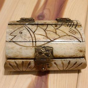 Camel 🐫 bone trinket box